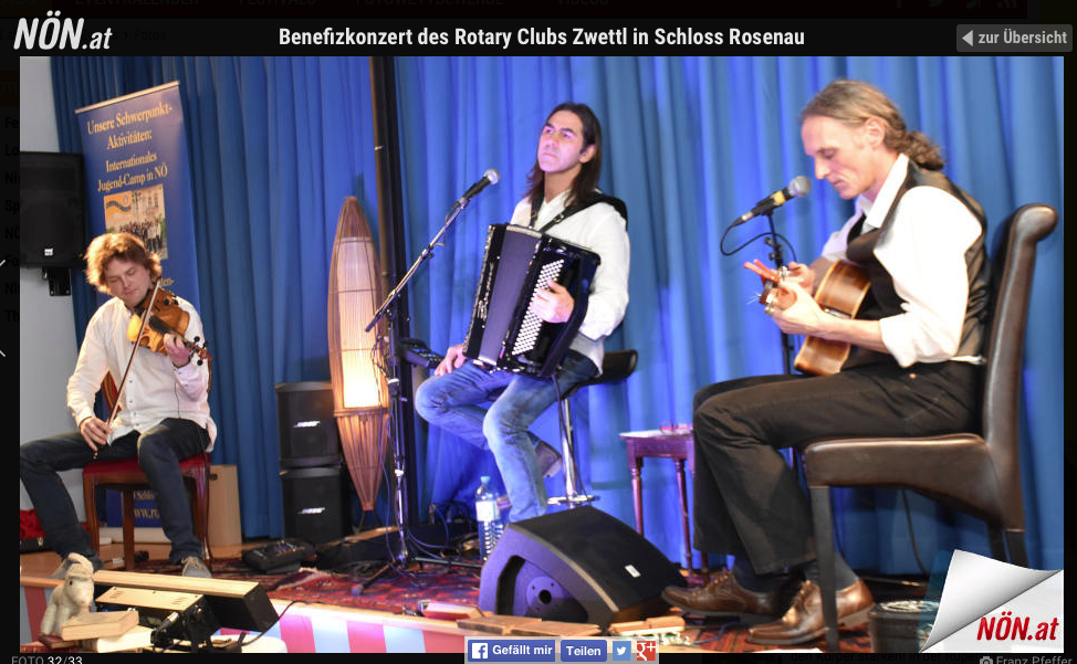 Günther Novak Rotary Club Schloss Rosenau