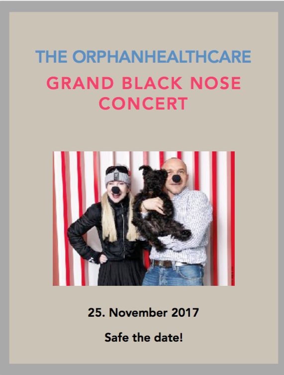 GRAND BLACK NOSE CONCERT ORPHANHEALTHCARE