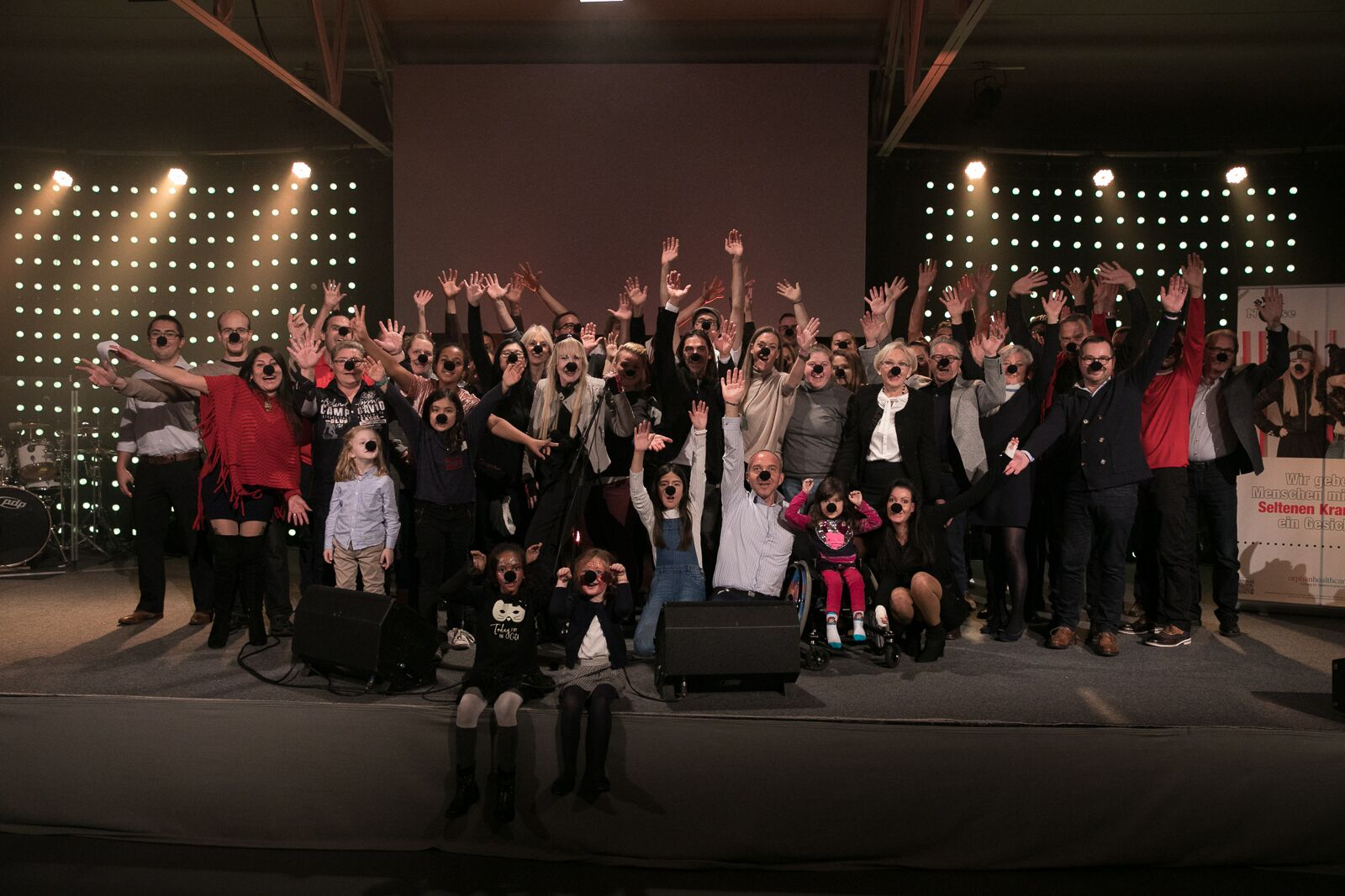 Grand Black Nose Concert - Günther Novak bei orphanhealthcare - Foundation for rare diseases